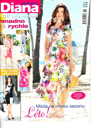 bb1a2cb1266 Diana MÓDA - předplatné časopisu