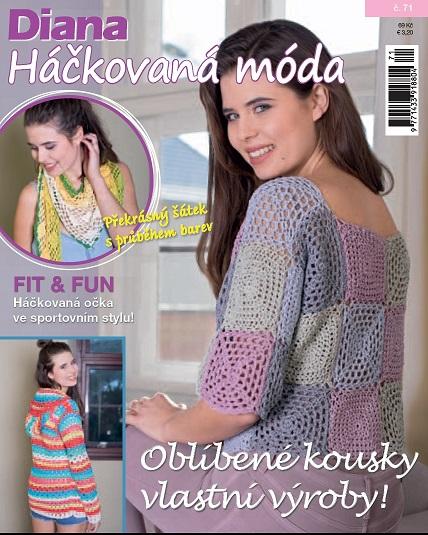 e1bc8b40a80 Diana HÁČKOVANÁ MÓDA - předplatné časopisu