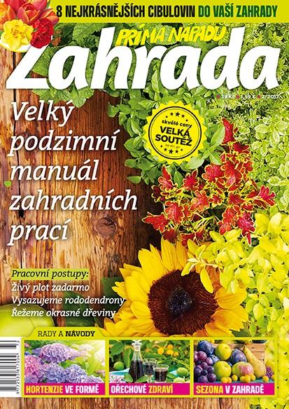 Nový časopis ZAHRADA