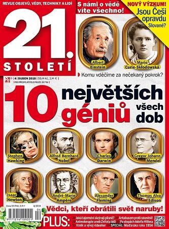 Roční předplatné časopisu 21. století se slevou 51%