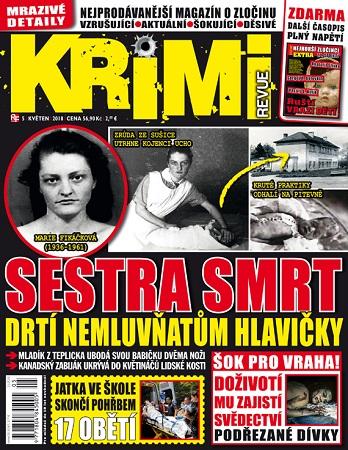 Roční předplatné časopisu KRIMI revue jen za 399 Kč